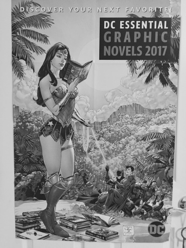 Awesome Wonder Woman poster now hanging in my daughter's room