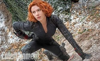 Black Widow played by Scarlett Johansson