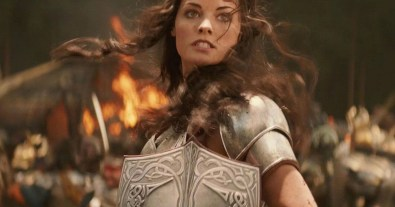 Sif played by Jaimie Alexander