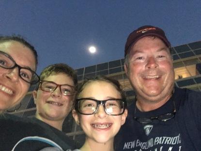 Eclipse family selfie!